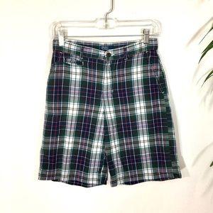 Ralph Lauren polo boys plaid shorts